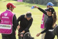Iturrioz (2ª) y la amateur Peláez (3ª) se suben al podio en el Andalucía Costa del Sol Open de España