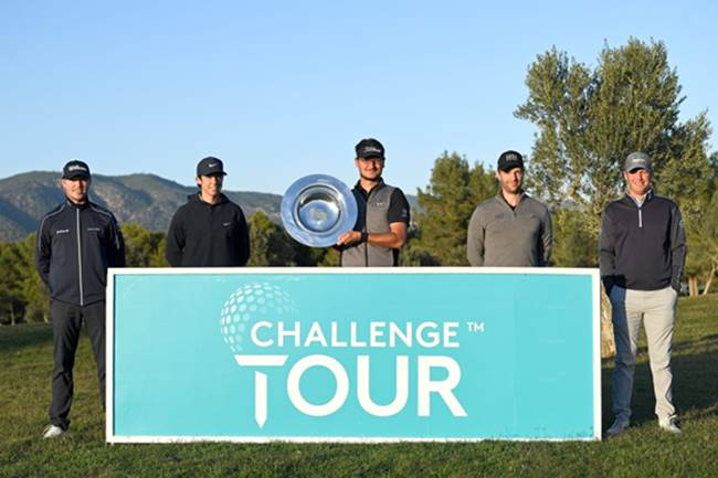 Pep Anglés y Top 5 Challenge Tour Road to Mallorca
