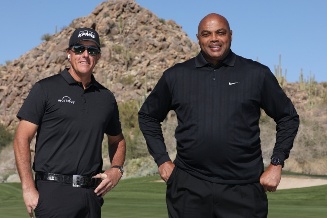 Phil Mickelson, Charles Barkley, The March Champions for Change 2020,