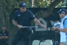 Phil Mickelson anota un quíntuple bogey en un Par 3 por primera vez en su carrera en el PGA Tour