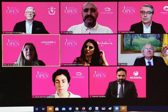 Ilusión y sintonía institucional en la presentación del Andalucía Costa del Sol Open de España