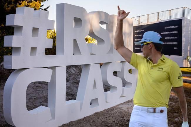 Rafa Cabrera en el RSM Classic. Foto @rsmclassic