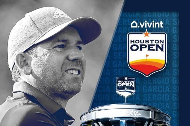 Sergio García en el Houston Open