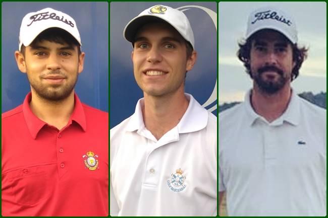 Sigot López, Roberto Garagorri y David Morago