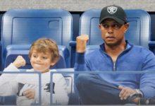 Tiger Woods jugará el PNC Championship junto a su hijo Charlie de 11 años la semana antes de Navidad
