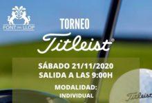 Font del Llop Golf Resort acoge el Torneo Titleist el próximo sábado 21 de nov. con grandes premios