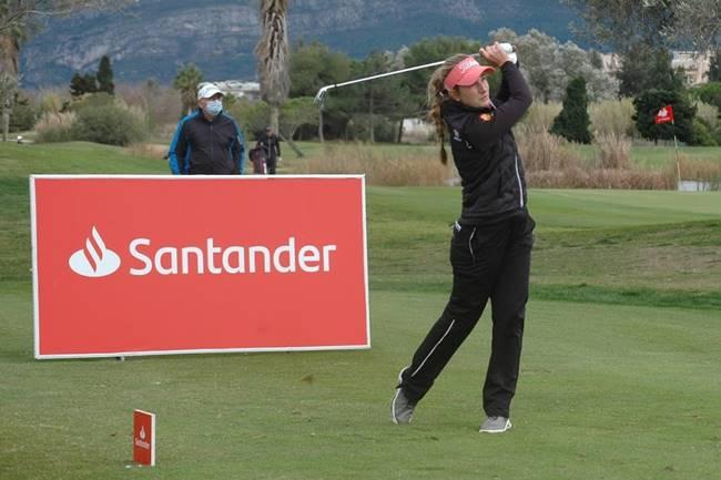 Luna Sobrón, a las puertas del triplete del Camp. de España de Profesionales en Oliva Nova Golf Resort