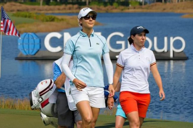 Carlota Ciganda y Azahara Muñoz CME Group Tour Championship