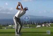 Vea el poderoso swing a cámara lenta, desde todos los ángulos, del número 1, ganador en Augusta, DJ