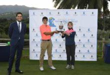 Keira González y David Vega, flamantes campeones de la 2ª edición del Circuito Juvenil Rafa Cabrera