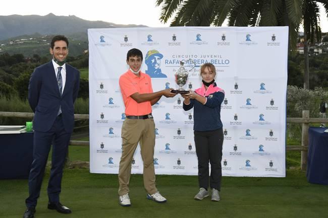 Entrega de trofeos Circuito Rafa Cabrera 2020