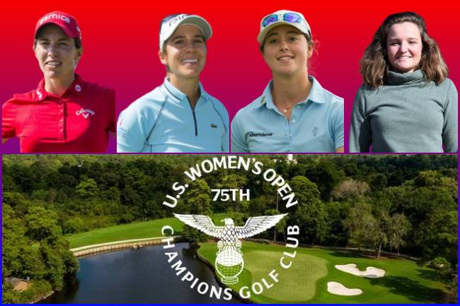 Españolas en el US Womens Open 2020