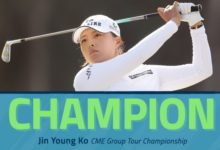 Jin Young Ko se adjudica el CME tras un increíble final con cinco birdies en siete hoyos. Azahara, T38