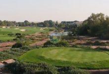 El Jumeirah Golf Estates dubaití cierra el curso en el European Tour ¡Conózcalo a vista de pájaro!