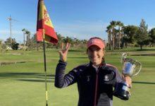 Oliva Nova Golf, talismán para Luna Sobrón quién confirma el 3 de 3 en el Campeonato de España