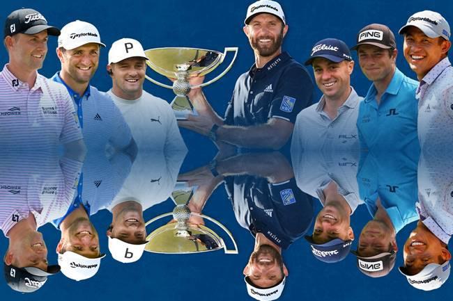 Multiples ganadores PGA Tour 2020 Jon Rahm espejo