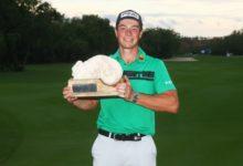 Hovland suma su segundo título en el PGA Tour gracias a un birdie en la última bandera del torneo