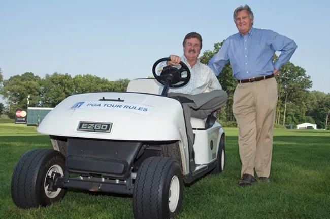 Slugger White, Mark Russell, PGA Tour,