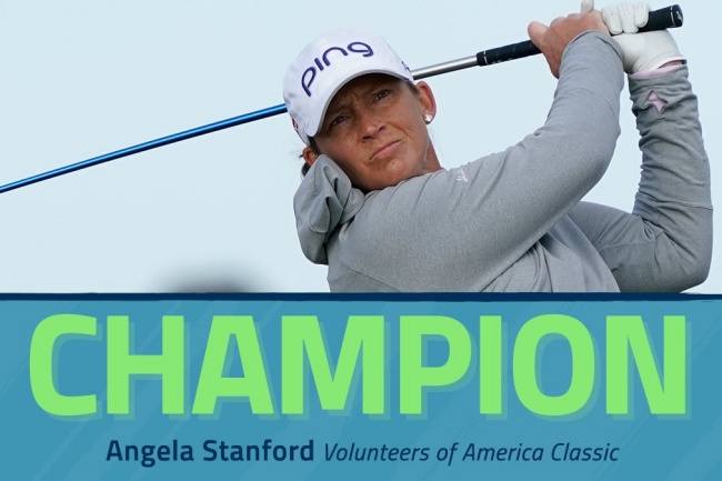 Volunteers of America 2020, LPGA , Angela Stanford, Old American GC,