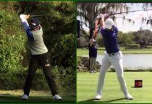 Compare el swing a cámara lenta de Rory McIlroy y Yuka Saso, el clon femenino del jugador norirlandés