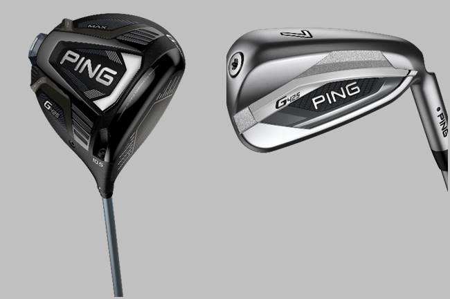 Driver y Hierros PING G425