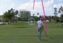 El Golf es duro… Una cruel corbata sacó la bola de Kokrak del agujero cuando todo apuntaba al Ace