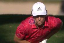 Esta madera desde 255 yardas del chileno Niemann en el 18 para eagle podría valer un título en el PGA