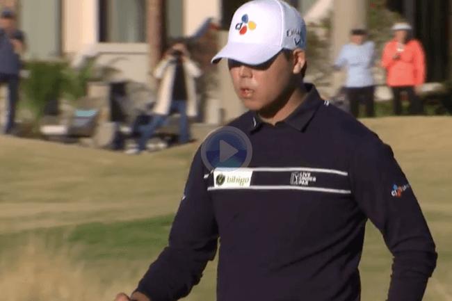 PGA Tour, American Express 2021 j4, Stadium Course, Si Woo Kim, Videos de Golf,