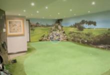 Les presentamos la habitación que cualquier golfista desearía para poder pasar el confinamiento