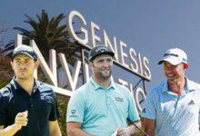 Rahm, Morikawa y Cantlay, 3 Top 10 mundiales en uno de los grandes partidos del Genesis HORARIOS