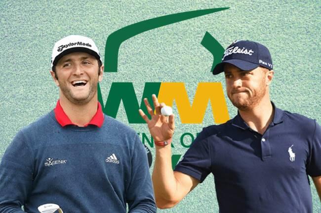 Jon Rahm y Justin Thomas en el Phoenix Open
