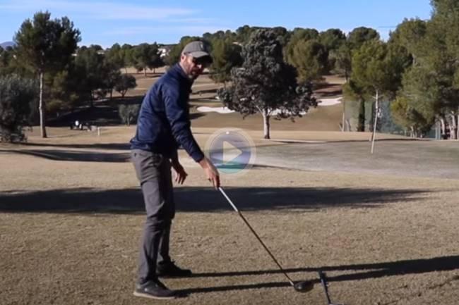 José Vicente Pérez nos enseña a pegar el driver de forma perfecta con dos movimientos clave