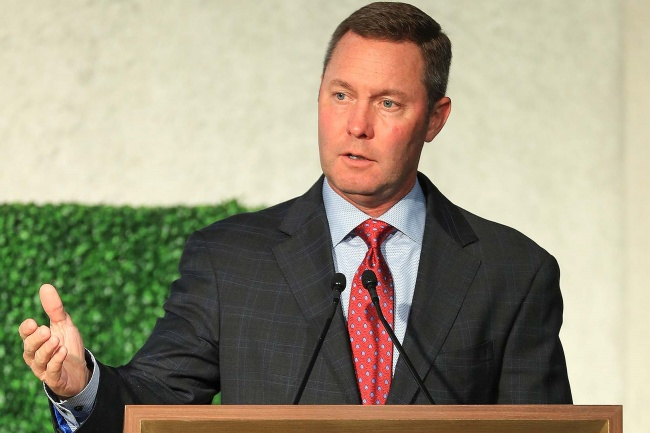 Mike Whan, Golf Central,