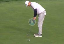 El Golf es duro… Lashley hizo 4 putts desde 4 mts., 3 de ellos desde apenas 1 despidiéndose del  título