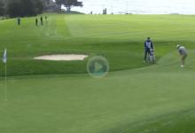 Paul Casey, dispuesto a pelear también por vencer en el PGA Tour: con este chip se mete en el Top 4