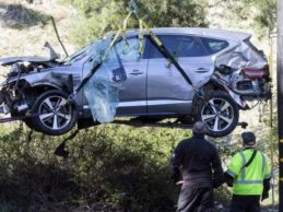 """El ayudante del sheriff, sobre el accidente de Tiger: """"Woods puede dar gracias de seguir con vida"""""""