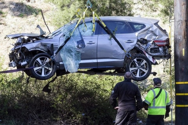 Tiger Woods Accidente,