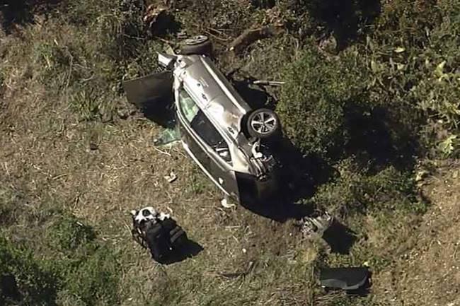 Tiger Woods, operado de urgencia tras sufrir un aparatoso accidente de tráfico en Los Ángeles