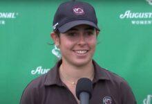 Ana Peláez es segunda en el comienzo del Augusta National Women's Amateur (Incluye VÍDEO)