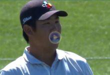 El Golf es duro… Hun An se despidió del PLAYERS tras firmar un ¡¡once!! en el par 3 de la isla del 17