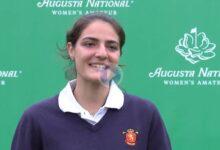 Carolina López-Chacarra desde Augusta National WA: «Mi principal virtud es que pego fuerte»
