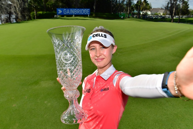 LPGA, Nelly Korda, Gainbridge LPGA 2021,