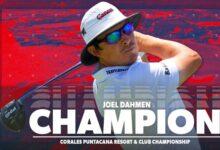Joel Dahmen le arrebata el triunfo a Rafael Campos en el Corales tras un domingo de mucha emoción