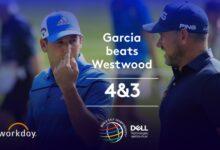 Sergio lo borda ante Westwood y consigue por 4&3 una victoria de prestigio en su debut en el WGC