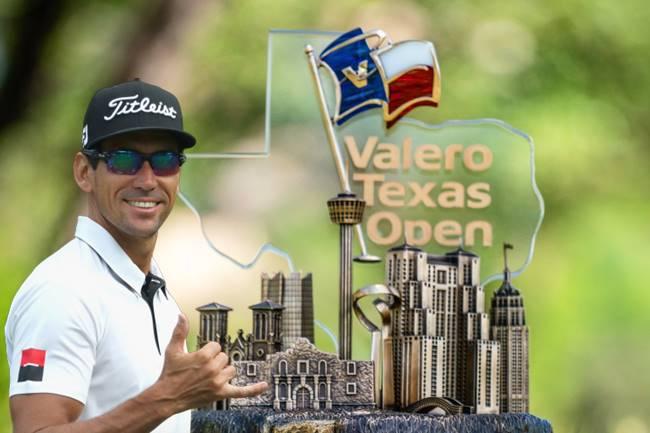 Rafa Cabrera Trofeo Valero Texas Open