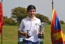 Sergio Jiménez se corona como nuevo campeón de España Sub 18 Masculino en el RCC Córdoba