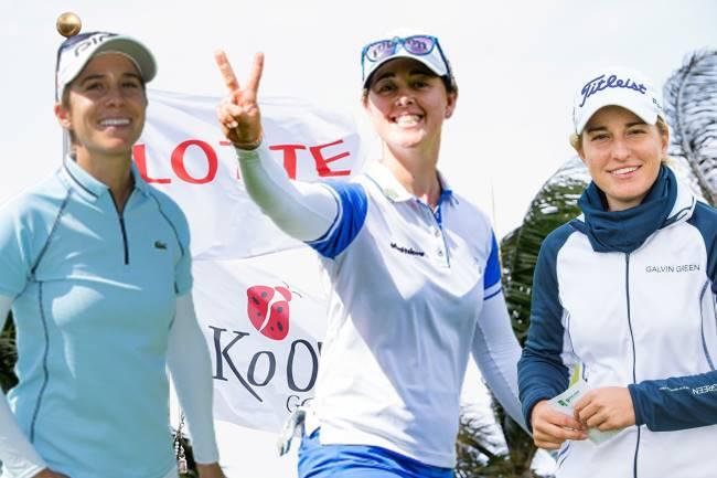 Azahara Muñoz, Nuria Iturrioz y Luna Sobrón viajan a Hawaii a por el LOTTE Championship de la LPGA