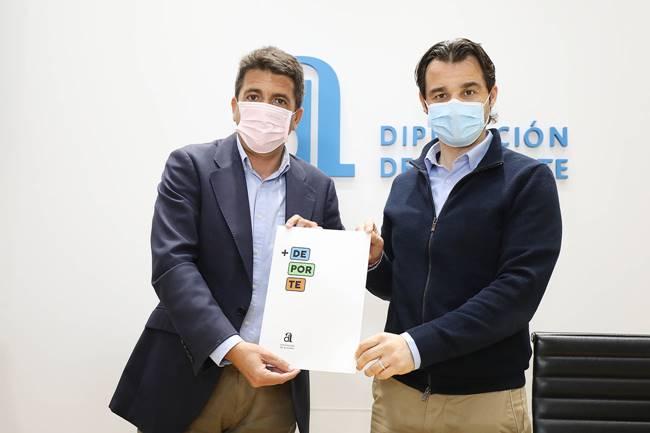 Diputación de Alicante crea el Plan + Deporte para invertir 10 millones en instalaciones deportivas