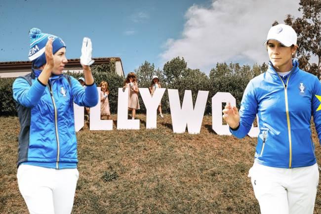 Carlota Ciganda y Azahara Muñoz a la conquista del LA Open, evento que tiene lugar en Hollywood