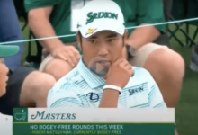 Este 65 de Matsuyama en la tercera ronda del Masters lo sitúa como gran favorito a la victoria